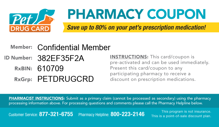 Discount pet drugs coupons