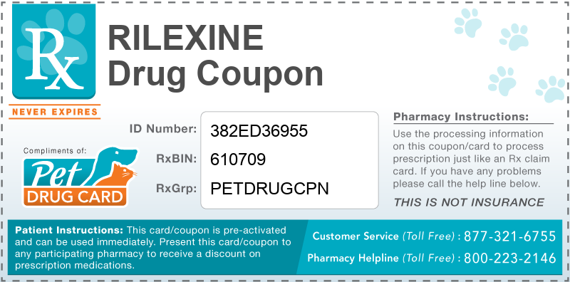 This Rilexine coupon provides significant prescription savings at pharmacies nationwide
